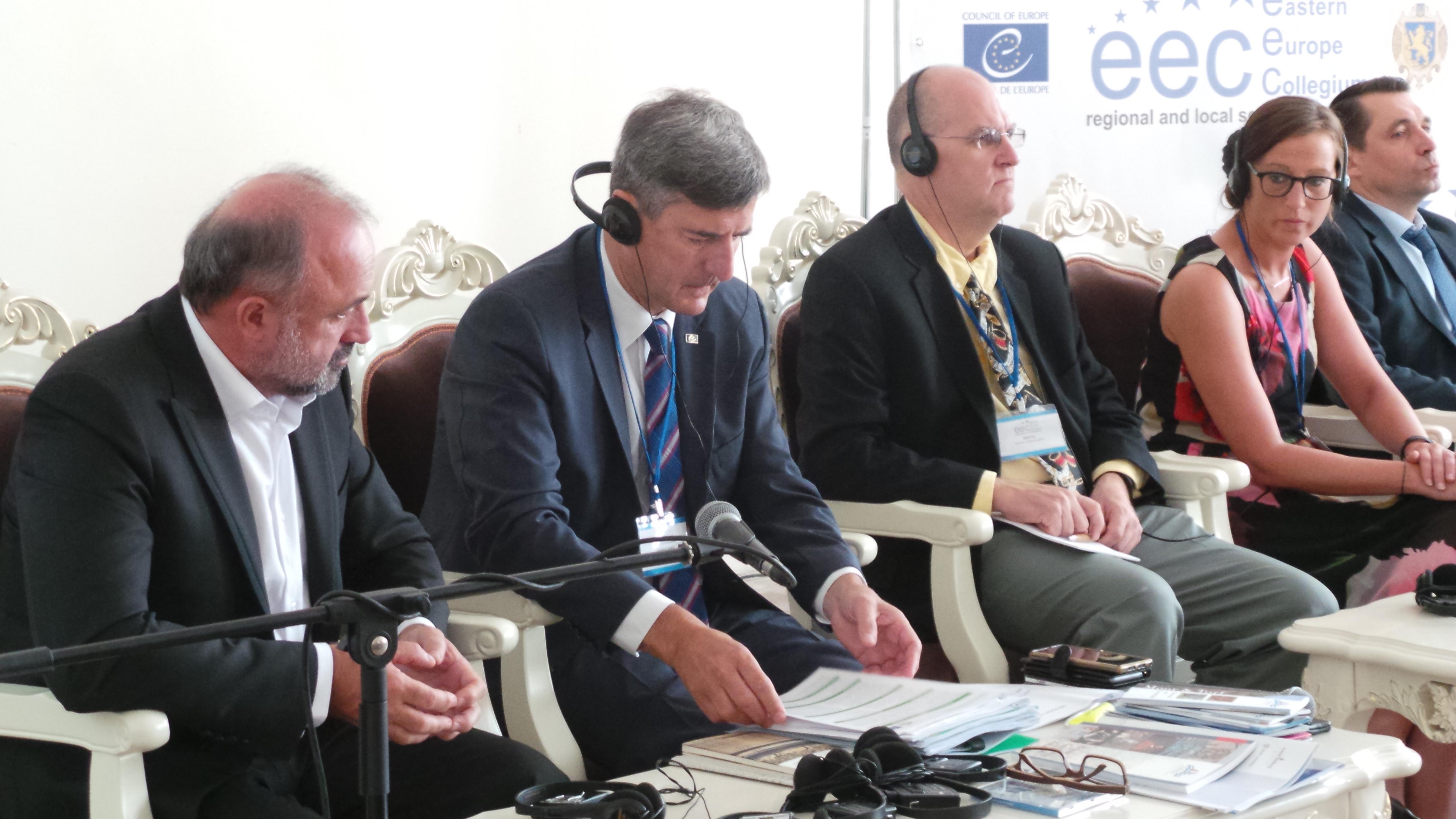 «Участь міжнародних організацій у реалізації комплексної реформи місцевого самоврядування в Україні»