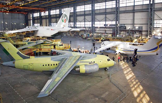 За годы независимости завод «Антонов» построил 16 самолётов