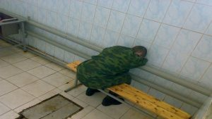 Солдат бедняга
