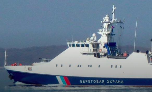 Возле украинской границы заметили российский корабль