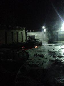 """Підпал автівки ОЛЕНИ ЄСКІНОЇ - пряма погроза з боку рейдерів з """"Укрбуду"""""""