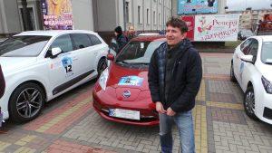Владимир Романцов - представитель кевской команды-участника Electrocars.club