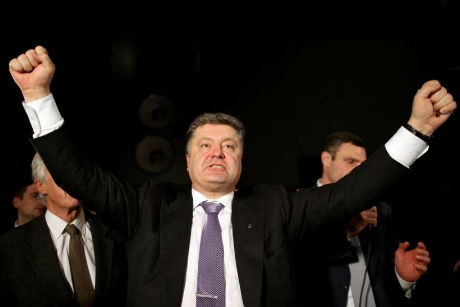 Про Порошенко и его участие в боевых действиях
