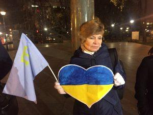 Фото митинга опубликовала пользователь Twitter Алла Наумчева.