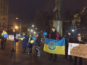 Фото митинга опубликовала пользователь Twitter Алла Наумчева