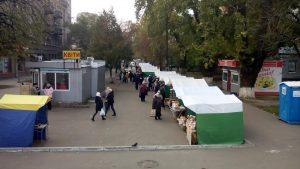 Кияни відстояли ярмарок який закрили з подачі супермаркету, що поруч