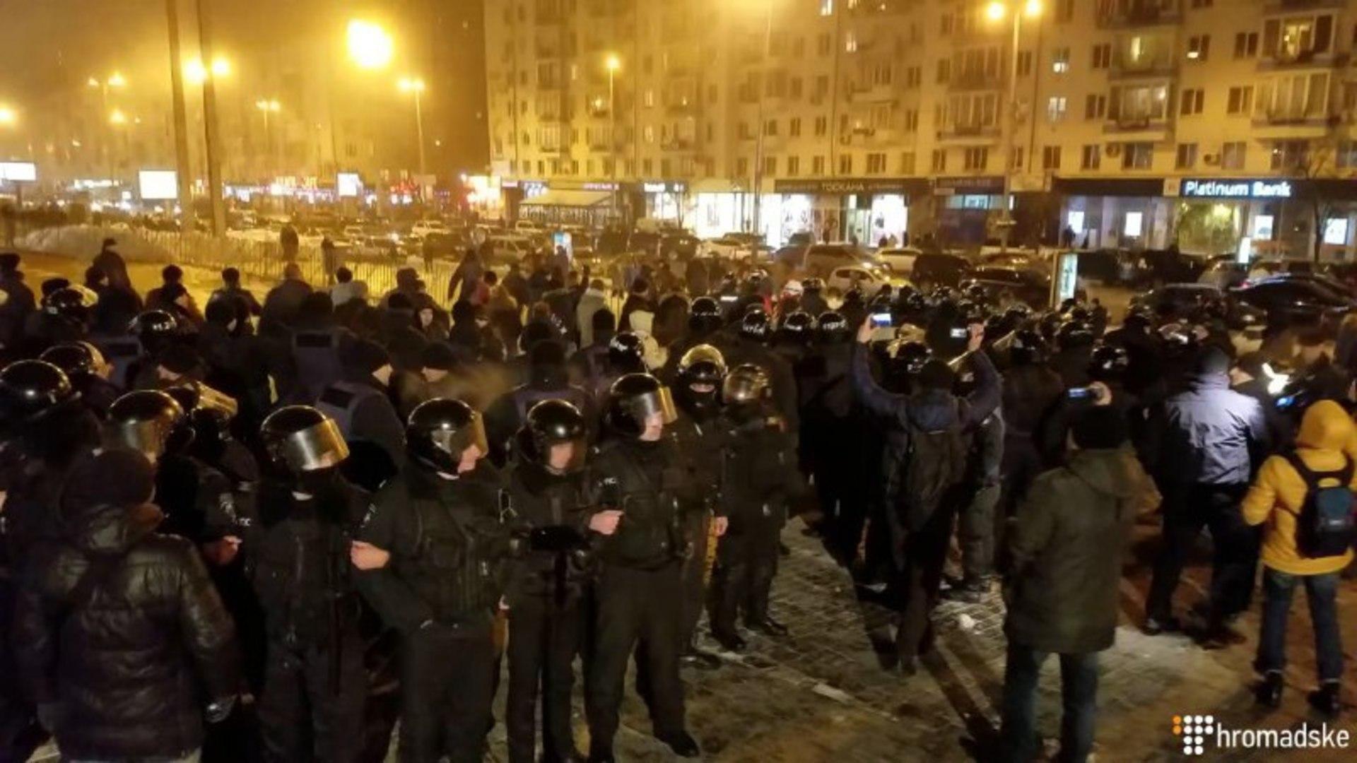 Через концерт «Потапа і Насті» в Києві  поліція знов побила паріотів
