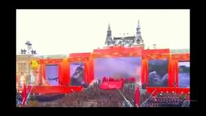 """""""За Москву! За Родину! В атаку! Ура!"""", - возле Кремля провели очередные ритуальные военные игрища. ВИДЕО"""