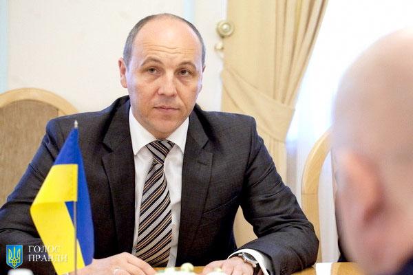 Парубій заборонив виступи у Раді російською мовою