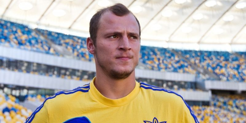 Player of the Ukrainian national football team Roman Zozulia