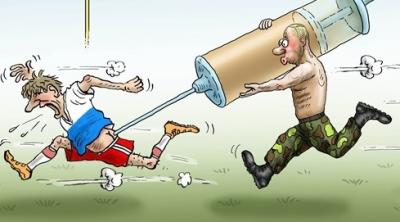 футбол допинг